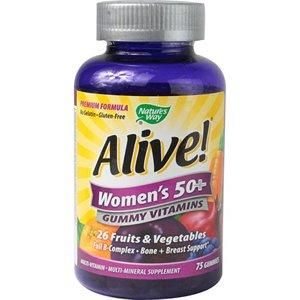 Живой! Для женщин 50+ GUMMY Витамины природы Way 75 Gummy