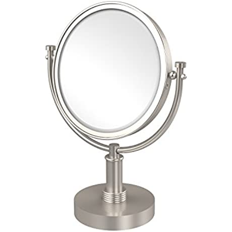 Allld Allied Brass DM 4G 4X SN 8 Inch Vanity Top Make Up Mirror 4x Magnification