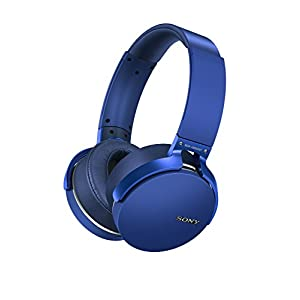 Sony MDRXB950B1/L Extra Bass Bluetooth Headphones, Blue
