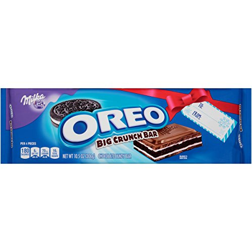 Oreo Big Crunch Holiday Gift Chocolate Candy Bar  10 5 Ounce  Pack Of 12