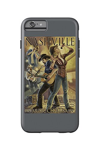 Nashville, Tennessee - Country Band Scene (iPhone 6 Plus Cell Phone Case Cell Phone Case, Tough)