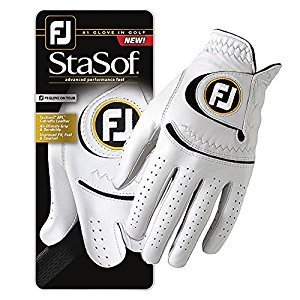 Mens FootJoy StaSof Pearl Leather Golf Glove ML, Cadet Left Hand