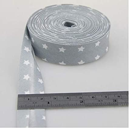BeylaNH Checks Patterns Printe Bias Tape 20mm,10meter Spots Scottish Twill Fabric Fold Cotton Twill Tape 100/% Cotton Bias Tape Dots,Stripes