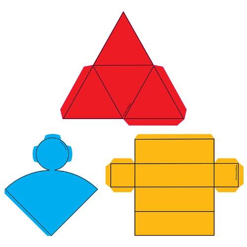 Geometric Nets Curriculum Cut-Outs