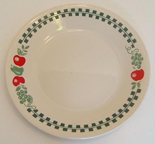 apple corelle plates - 2