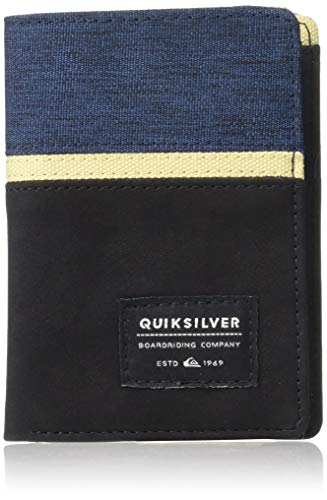 (Quiksilver Men's STORMERY Wallet, black M)