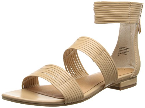 Vachetta Beige Corona Sandale Knöchelriemen Seychelles Damen xRA1xX