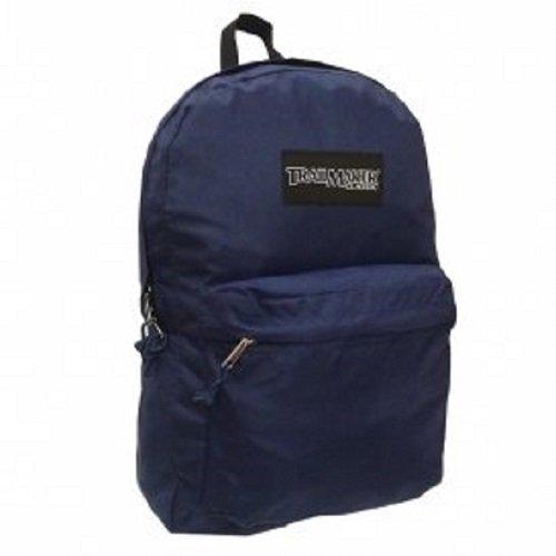 Trailmaker 17' Backpack Bookbag (Navy Blue)