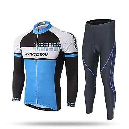 Ciclismo Traje de Manga Larga Traje-Bicicleta Ropa-Humedad ...