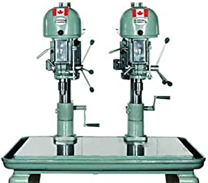 General International 2 Spindle Drill Press 3/4HP 1/115/60