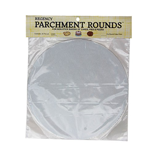 Regency Wraps RW1110 Round Parchment Paper, 10-Inch, White, Set of (Regency Parchment)