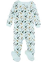6695561dd2 Kids Pajamas Baby Boys Girls Footed Pajamas Sleeper 100% Cotton (Size 6-12