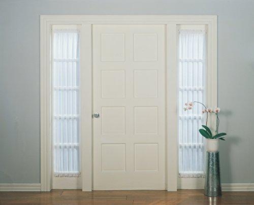 (No. 918 Emily Sheer Voile Door Curtain Panel, 28