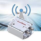 Richer-R TV Signal Amplifier, Standard AC 220V 2-Way CATV Signal Amplifier Video Assistor