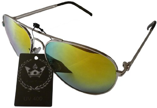 HB Triple Crown CHP rev Aviator Mirror Style Designer Inspired Sunglasses - - Patrol Sunglasses Highway