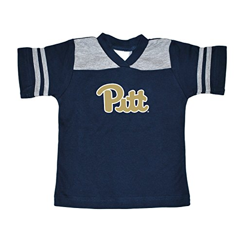 NCAA Pittsburgh Panthers Toddler Boys Football Shirt, Navy, (Pittsburgh Panthers Jerseys)