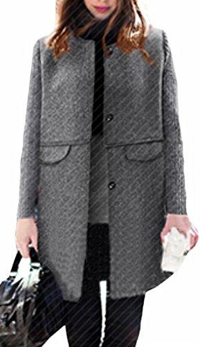 Nylon Print Coat - 4