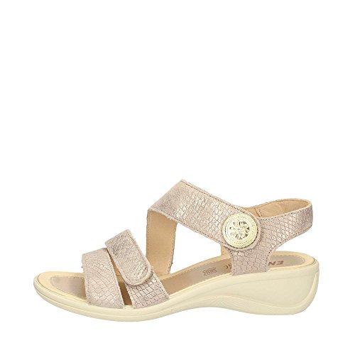 ENVAL SOFT - Sandalias de vestir para mujer Platino