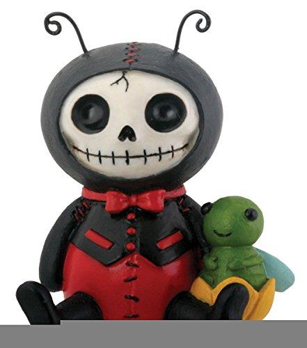 Exclusive Tuxedo Ladybug Cricket Skeleton Monster Ornament Figurine by Figure