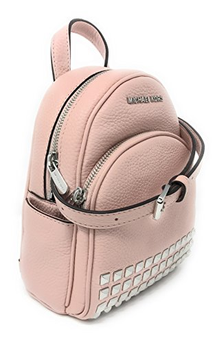 f075c49661a1 Amazon.com: Michael Michael Kors Abbey Extra-Small Studded Leather Backpack  Blossom: A Little Bit Of Fashion