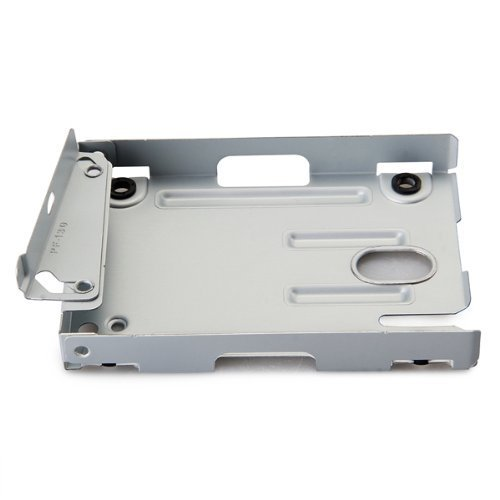 TOOGOO(R) Z802029 Super Slim Hard Disk Drive Mounting Bracket for PS3 System CECH-400x Series White