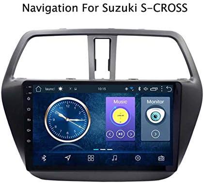 Suzuki S-CROSS 2014-2017カーエンターテイメントマルチメディアラジオ、WiFi/BTテザリングインターネット、サポートBluetooth 64G SDなど向けのAndroid