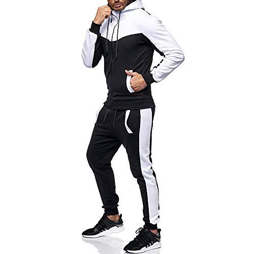 Packwork Joggeurs Liquidation Cordon Taille Ensembles Sportif A Grande Casual Day Sweat Hommes Costume Petits Mode Haut Survêtement Blanc Pantalon lin Pieds qItxEw1EX