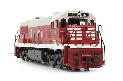 Rivarossi GE U25C Chicago, Burlington and Quincy 550 with DCC/Sound (HO scale)