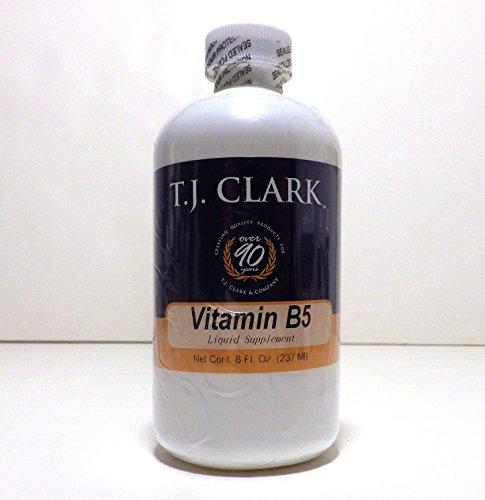 Vitamin B5 d-Calcium Pantothenate 50mg- 8oz Liquid