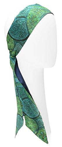 L. Erickson USA Elastic Loop Headband - Blue Multi by L. Erickson USA