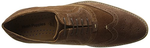Hush Puppies Mænds Stil Brogue Oxford Brun xWkh4CN0KC
