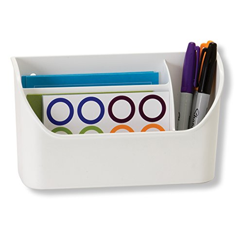 Officemate Magnet Plus Magnetic Organizer, White (92550) (Magnetic Board Accessories)