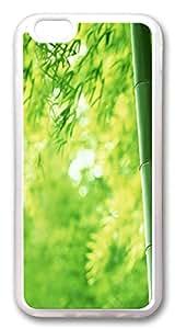 Bamboo Custom iphone 6 plus 5.5inch Case Cover TPU Transparent