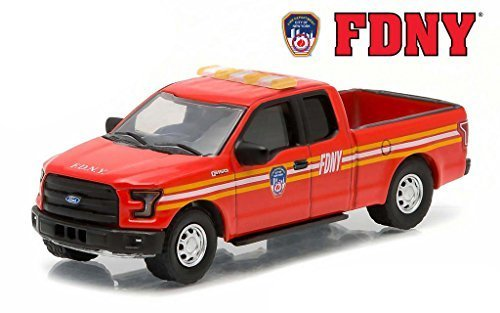 - 2015 Ford F-150 The Official Fire Department City of New York FDNY Hobby Exclusive 1/64 by Greenlight 29833