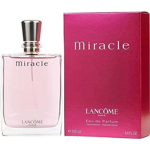 - Miracle by Lancome Eau De Parfum Spray For Women 3.4 FL.OZ./100 ml