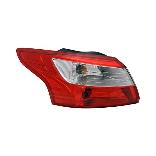 Value Driver Side Outer Tail Light For Ford Focus OE Quality Replacement