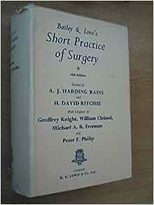 short practice of surgery pdf