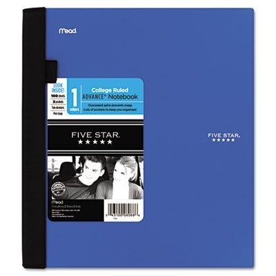 College Ruled Letter (Mead Advance Wirebound Notebook, College Rule, Letter, White, 100 Sheets per Pad (06426), Colors May Vary)