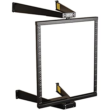 Amazon Com Tripp Lite 12u Wall Mount 2 Post Open Frame