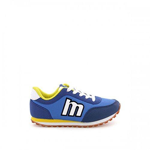 Mtng , Mädchen Sneaker Blau Raspe Royal Blue - Nylon Blue