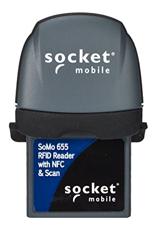 Socket Mobile, INC. Rfid Series 6 Rfid Receipt Barcode Scanner With NFC And Scan PLUG-IN, ANTIMICROBIAL-WHITE