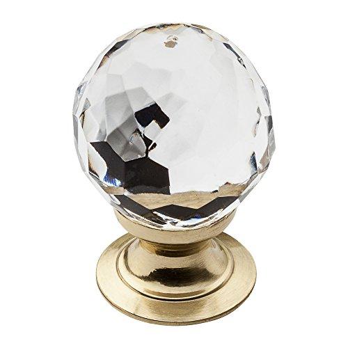 Baldwin 4317.030 1-Inch Crystal Cabinet Knob, Polished ()