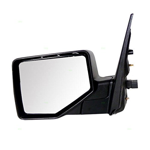 Drivers Power Side Mirror Puddle Lamp w/Black & Chrome Covers Replacement for Ford Explorer & Sport Trac Mercury Mountaineer 6L2Z17683DAA