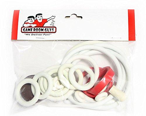 - Game Room Guys Gottlieb Spirit of 76 Pinball White Rubber Ring Kit