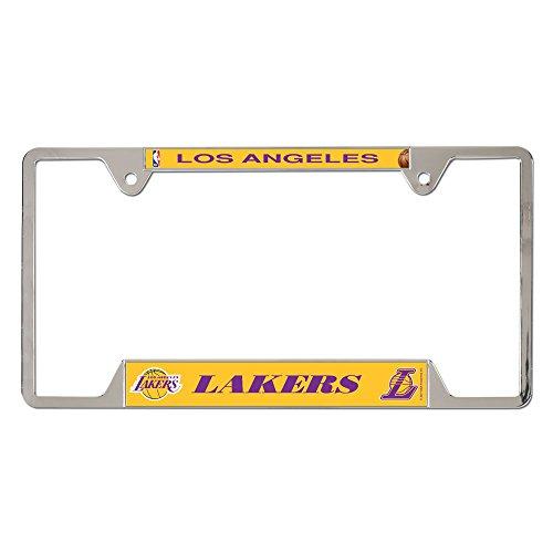 - NBA Los Angeles Lakers Metal License Plate Frame