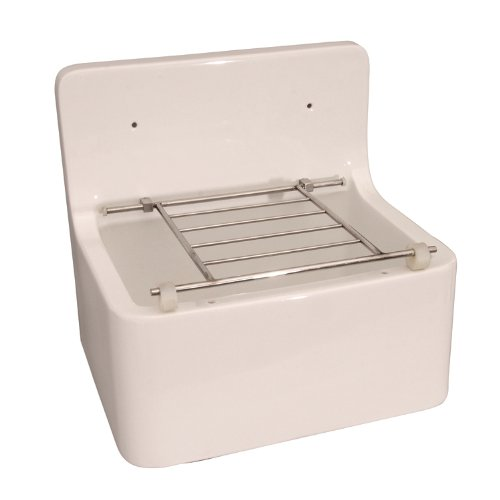 Barclay Products Utility Cleaner Sink White Vitreous China