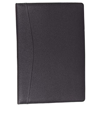 AmazingHind Professional 2 Ring Files and Folders, documents, certificates Holder Bag – to Store Your Important FS Size Documents. (Black, File with 40 Leafs)