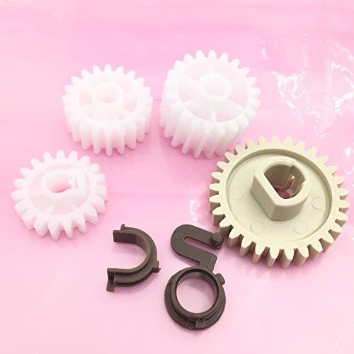 OKLILI 1SET X Q5956-67940 RC1-3610-000 RC1-3609-000 RU5-0331-000 RU5-0377-000 RU5-0378-000 RU5-0379-000 Fuser Drive Gear Repair Kit Wheel Set for HP 2400 2410 2420 ()
