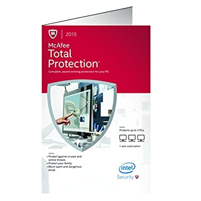 McAfee 2015 Total Protection 3 PC (3-Users)
