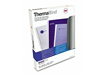 weiß A4 GBC Thermobindemappe ThermaBind Optimal 3 mm